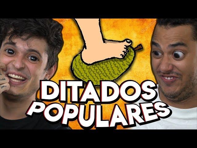 DITADOS POPULARES que você falou ERRADO a sua VIDA INTEIRA !!
