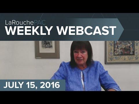 Helga LaRouche: Herrhausen Solution for Deutsche Bank to Stop War