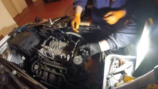 Как поменять цепь ГРМ Volkswagen Polo How to change the timing chain Volkswagen Polo 1,4i