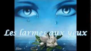Jeane Manson - Les larmes aux yeux.paroles lyrics karaoke