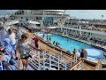 Allure of the Seas Pool Deck & Kids H2O Zone Water Park (HD)