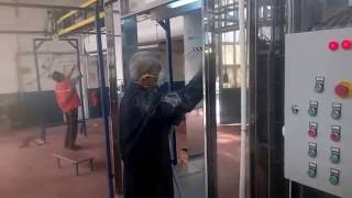 Yarı otomatik toz boya tesisi -Powder Coating Systems
