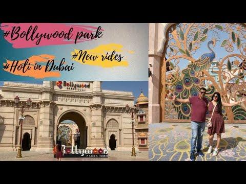#Bollywood Park #Holi in dubai!