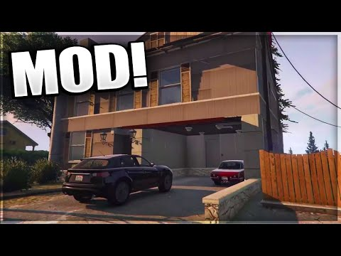 GTA 5 PC MODS MODERN HOUSE MOD GTA 5 Mansion DLC MOD GTA 5