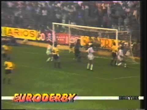 1988 September 7 Real Madrid Spain 3 Moss Norway 0 Champions Cup