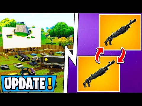 *NEW* Fortnite Update! | Season 8 Double Pump, Old Map, Respawns!