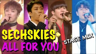 "[STAGE MIX] SECHSKIES (젝스키스) - ""ALL FOR YOU"" 20200201 - 2020…"