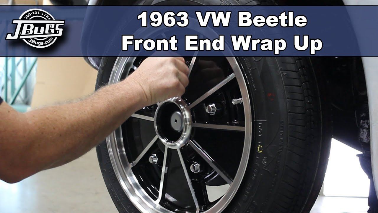 Jbugs 1963 Vw Beetle Front End Wrap Up Youtube Wiring Harness