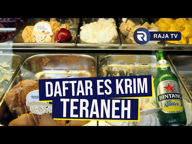 Daftar Es Krim dengan Rasa Tak Biasa