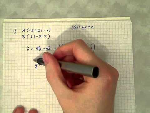 Geraden in Geogebra darstellen from YouTube · Duration:  9 minutes 6 seconds