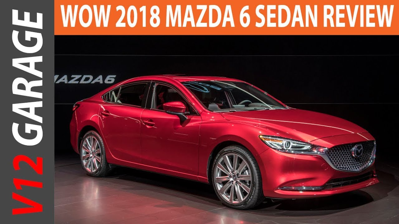 wow 2018 mazda 6 review specs and release date youtube. Black Bedroom Furniture Sets. Home Design Ideas
