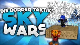 Die Border Taktik! - Minecraft Sky Wars! | DieBuddiesZocken