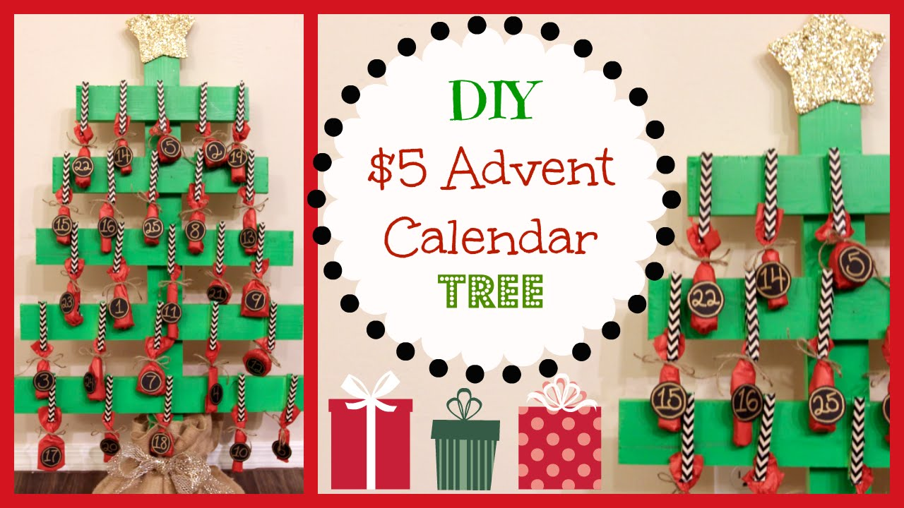 Diy Makeup Advent Calendar : Diy advent calendar tree missjenfabulous youtube