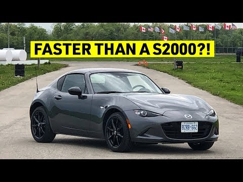 IT'S HOW FAST?! 2019 Mazda MX-5 RF TRACK REVIEW
