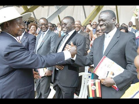 When Museveni and Besigye were in love, literally