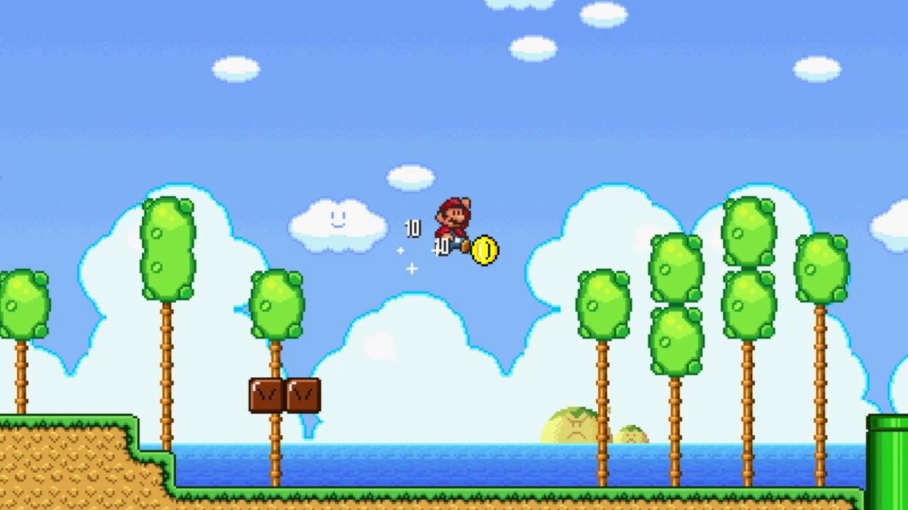 Super Mario Bros  X (SMBX) Custom Level - Super Mario Land 2