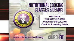 Church Fit Nutrition and Cooking Classes Promo Winter 2014 (Mt.Zion Church Nashville)