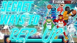NBA 2K17 MyPark Fastest way to REP UP after patch 7! How To REP UP FAST & EASY Secret TUTORIAL!