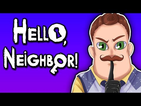 KIDNAPPED BY THE NEIGHBOR! | Hello Neighbor - Act 1 Ending (Full Release)