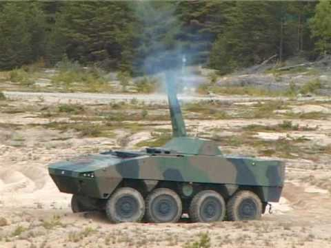 Patria AMV demonstration