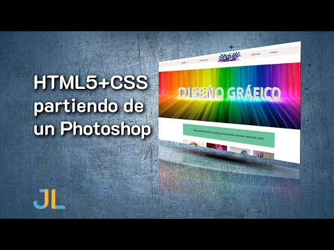 Web Con HTML5+CSS Partiendo De Un Photoshop