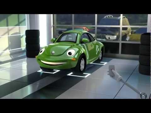 green Beetle volkswagen Service
