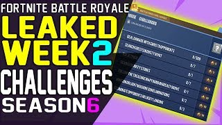 Fortnite Challenges Week 2 Ha perso la Stagione 6 - Sfide gratuite e Battle Pass 7