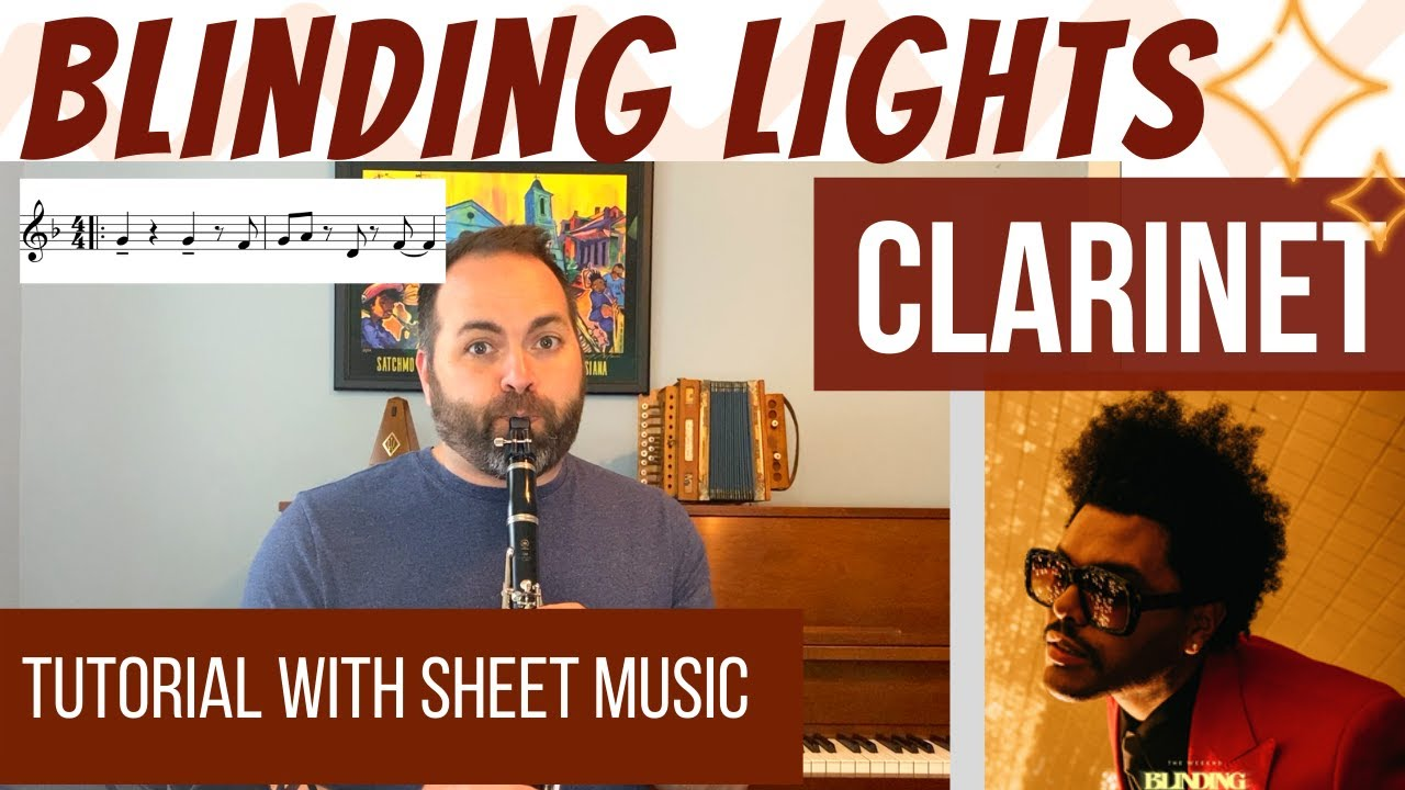 Blinding Lights (The Weeknd) for CLARINET