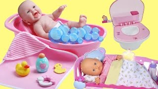 Baby Doll Bubble Bath Nenuco Dolls Cradle Baby Born Magic Potty Dolls Poop & Pee Potty Training Toy
