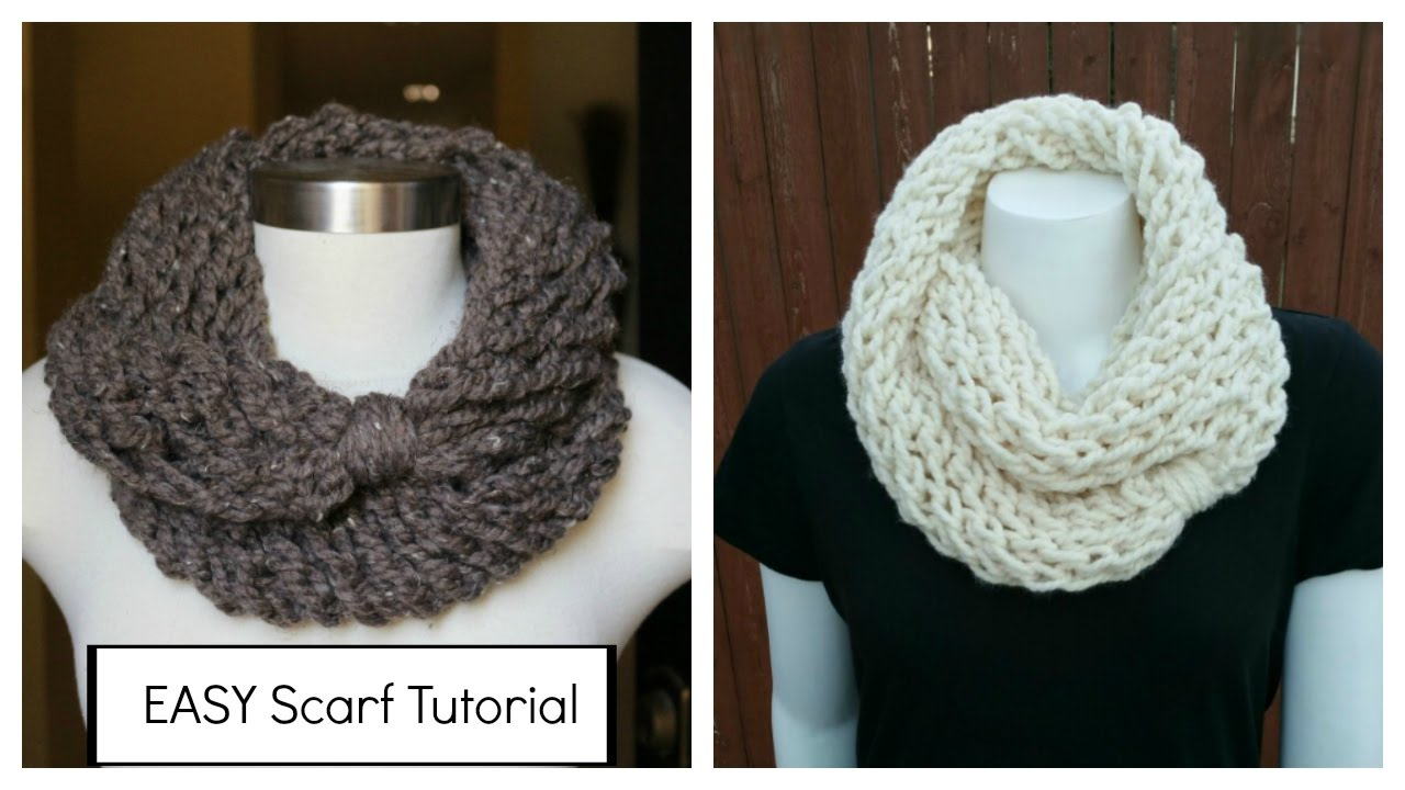 How To Knit An Infinity Scarf In A Couple Of Hours Plus Meet My