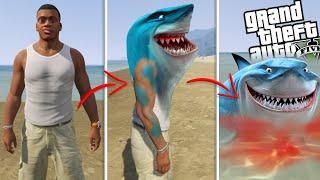 FRANKLIN becomes a SHARK (GTA 5 Mods)