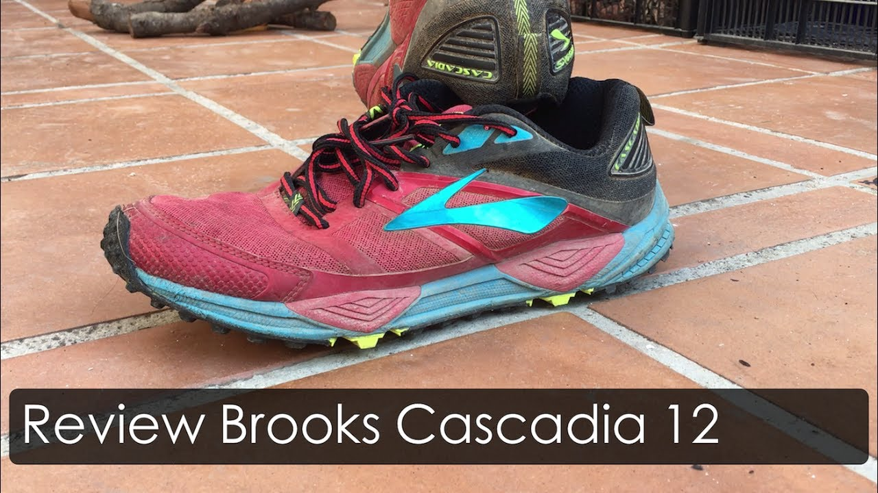 bd21508d12946 Review Brooks Cascadia 12 - YouTube