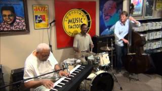Ellis Marsalis Trio @ Louisiana Music Factory JazzFest 2014