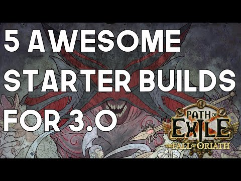 Path of Exile: 5 Awesome Starter Builds For 3.0 - Fall of Oriath