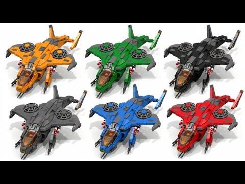 INSTRUCTIONS: Lego HALO Sparrowhawk