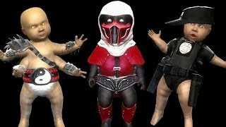 Mortal Kombat Komplete Mods Shao Kahn Expert Ladder Combos & Babalities