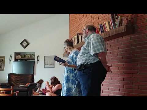 Nell and Roger attempt to sing!