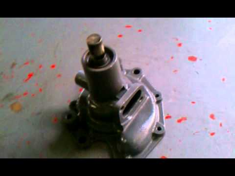 Hercules g 2300 water pump assembly - YouTube