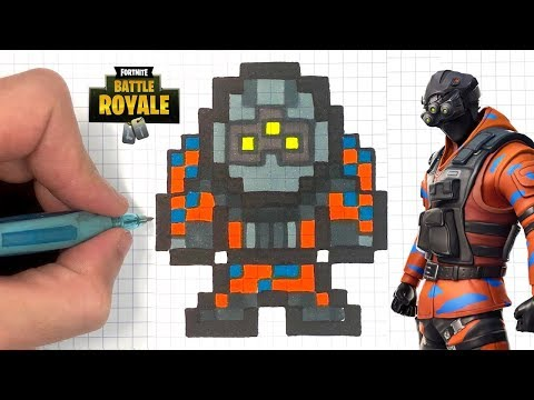 Tuto Dessin Hypernova Pixel Art Fortnite Youtube
