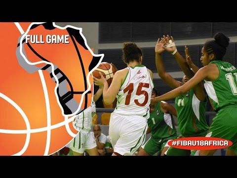 Algeria v Madagascar - Full Game - 2016 FIBA Africa U18 Women's Championship