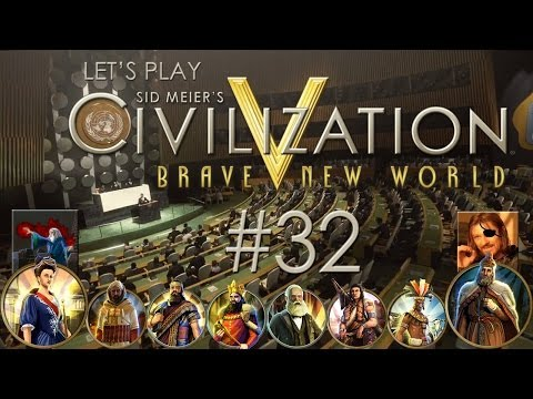 Let's Play Sid Meier's Civilization V: Brave New World - Ep. 32: DEFINITION OF ATTRITION (feat. Cyclops Pirate) |