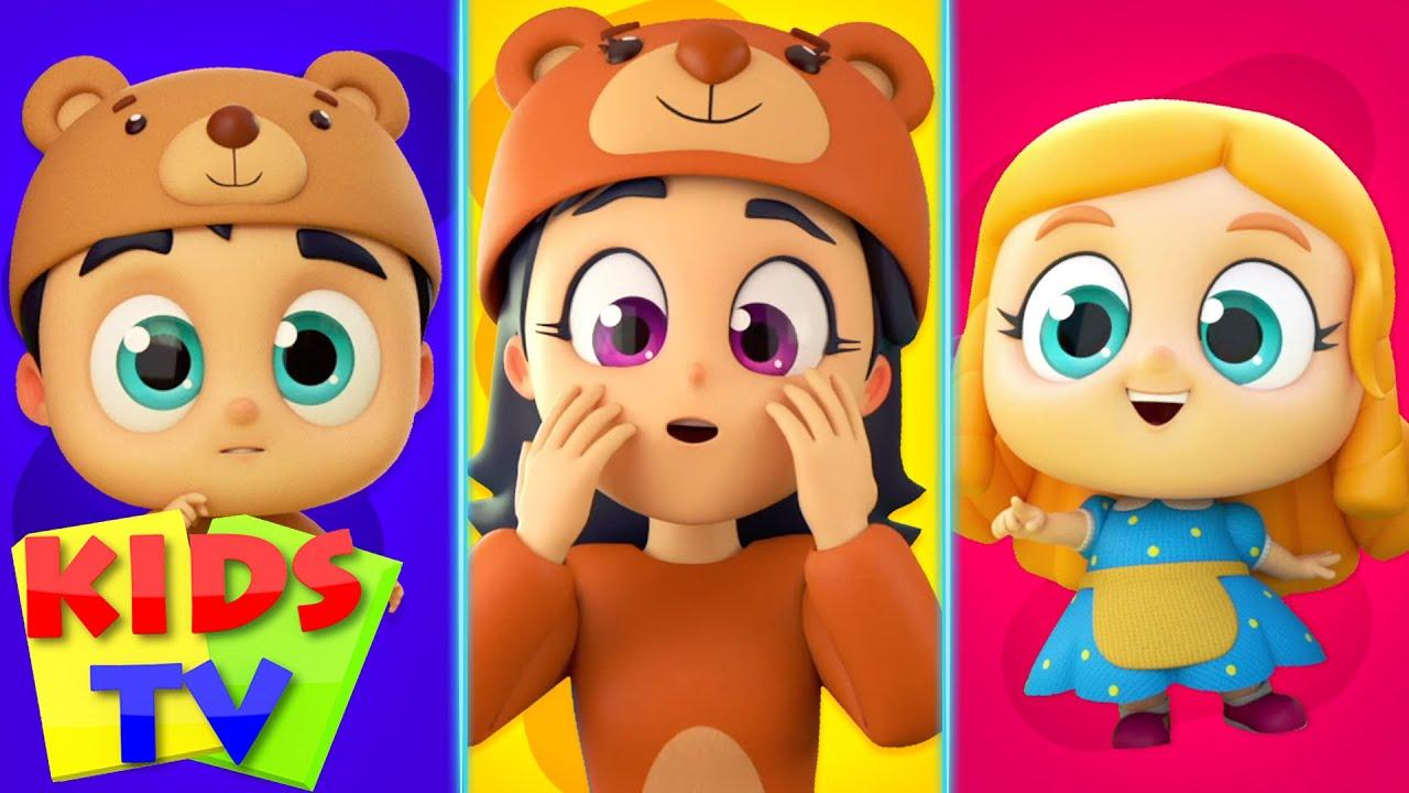 Goldilocks And The Three Bears   Story Time   English Bedtime Stories   Kids Cartoons