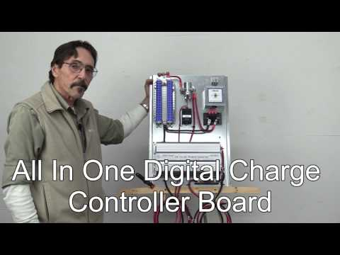 Missouri Wind and Solar's All In One Digital Charge Controller Board