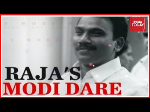 DMK Leader A Raja Challenges Modi On 2G Scam Facts In India Today Interview