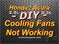 F22/F23 Honda Acura Cooling Fans Not Working 2.2L & 2.3L - F22 F23 - Bundys Garage