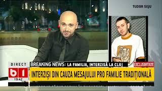 BUNA, ROMANIA- TUDOR SISU, LA FAMILIA INTERZISI DIN CAUZA MESAJELOR PRO FAMILIE