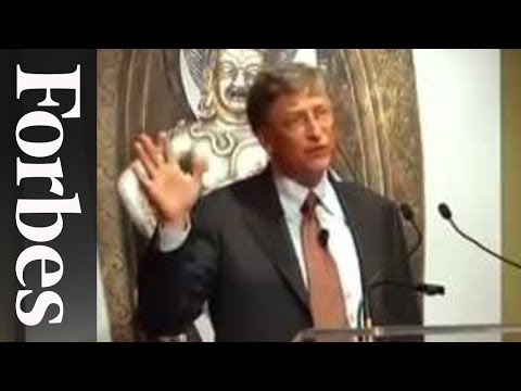 Bill Gates Addresses Rising Costs of College Tuition - Forbes 400 Summit | Forbes