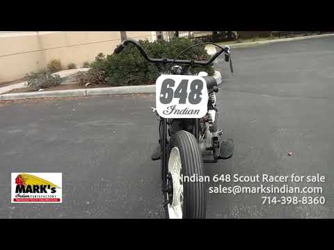 Indian 648 Big Base Scout Racer, Indian Motorcycle for Sale