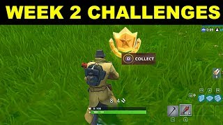 FORTNITE SAISON 5 SEMAINE 2 DÉFIS! SEMAINE 2 TOUS LES CHALLENGES EASY GUIDE SEASON 5 BATTLE PASS!