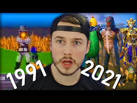 PUBG EVOLUTION 1991-2021